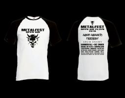 Tričko pánské White/Black MOA 2019