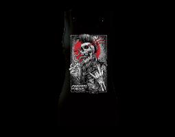 Tílko dámské široké ramínka Punker černý MOR 2019