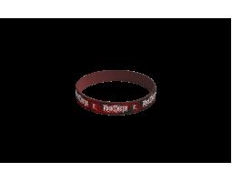 Silikonový náramek ROA - červený