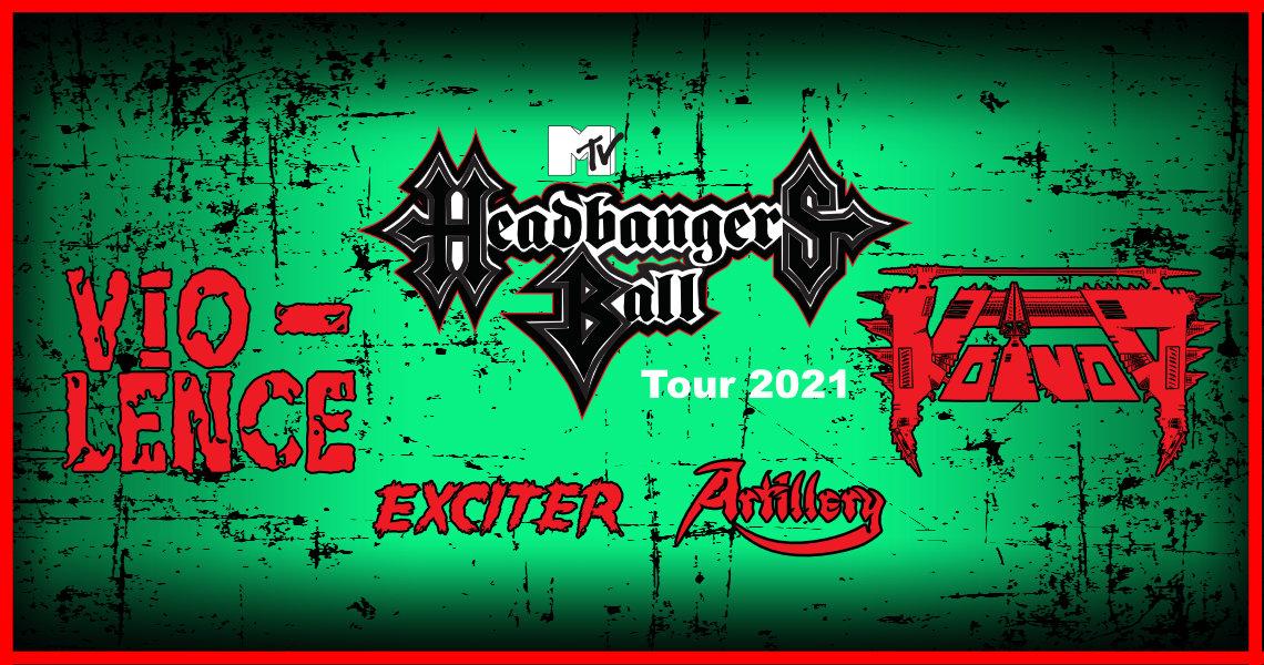 MTV Headbangers Ball Tour 2021