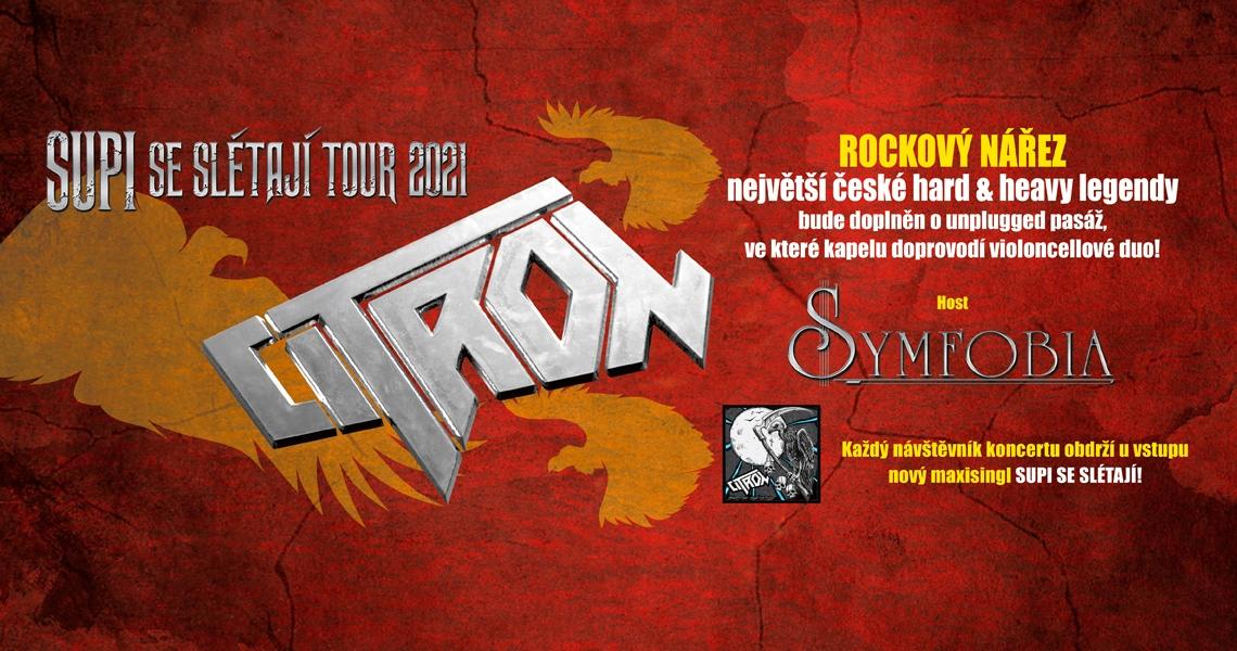 CITRON - Supi se slétají tour 2021